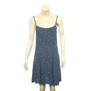 12050 Denim & Supply Floral A Line Mini Dress S